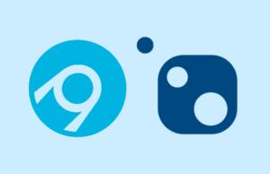 La imagen muestra el logo de Nuget y AppVeyor