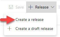 El la imagen señala el botón para lanzar un ciclo de release