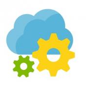 La imagen muestra el icono de Azure App Configuration