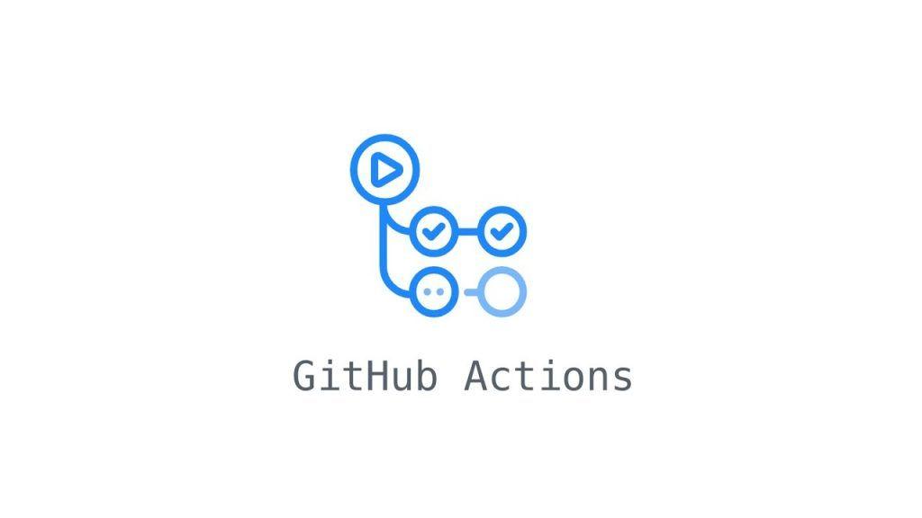 Imagen ornamental con el logo de Github Actions para la entrada Herramientas de desarollo: Github Actions como CI para .Net