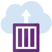 Imagen ornamental con el logo de Azure Container Instances (aci) para la entrada sobre como desplegar contenedores en Azure con Docker Desktop